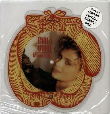 Knocked Out Paula Abdul UK shaped picture disc vinyl record SRNS92 SIREN 1988