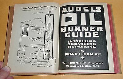 AUDELS OIL BURNER GUIDE - INSTALLING, SERVICING, REPAIRING 1960 Edition