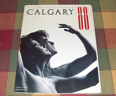 1988 Calgary Olympics Souvenir The Globe and Mail Guide to Calgary 88