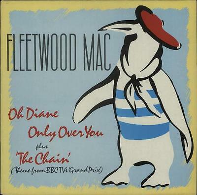 "Fleetwood Mac 12"" vinyl single record (Maxi) Oh Diane UK FLEET1T WARNER BROS"