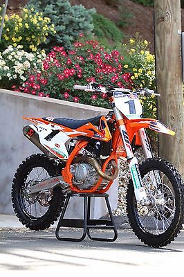 2017 KTM SX  2017.5 KTM 450 SX-F FE Factory Edition LIKE NEW ONLY 10 HOURS, $11,500 INVESTED