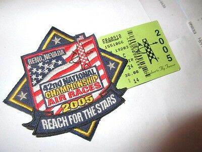 2005 42nd National championship Air Races. Reno, New + used ticket