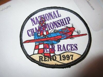 1997 National championship Air Races. Reno, New NOS Patch