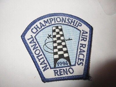 1994 National championship Air Races. Reno, New NOS Patch