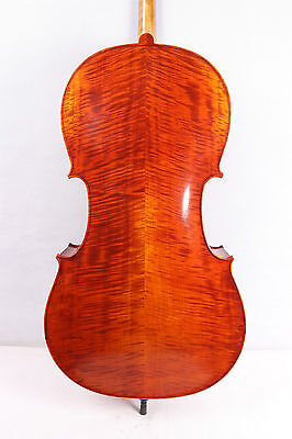 new cello 4/4 Top grade full size Cello Solid wood Powerful Sound hand made #653