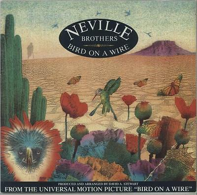 """Bird On A Wire Neville Brothers 12"""" vinyl single record (Maxi) UK AMY568 A&M"""
