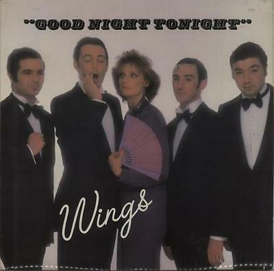 "Paul McCartney and Wings Goodnight Tonight 12"" vinyl single record (Maxi) UK"