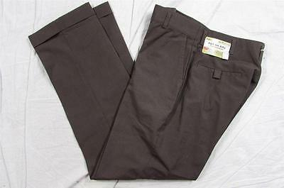 Vtg NOS NWT 50s 60s Farah Drop Loop Dress Pants Hollywood Slacks Boys 14 27x28