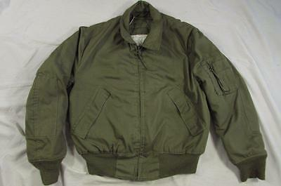 Vtg 90s 1991 US Army Tanker Jacket Coat Cold Weather High Temperature Aramid M