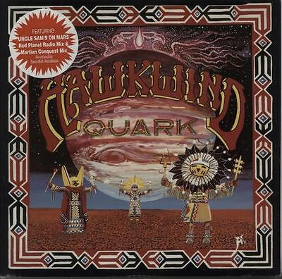 "Hawkwind 12"" vinyl single record (Maxi) Quark Strangeness And Charm EP UK"