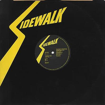 "Gonzalez Haven't Stopped Dancing Yet UK 12"" vinyl single record (Maxi)"