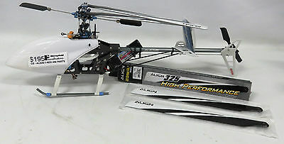 As New Unfinished Rc Helicopter - To Be Used As Parts - Gs207