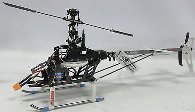 As New Unfinished Rc Helicopter - To Be Used As Parts - Gs208
