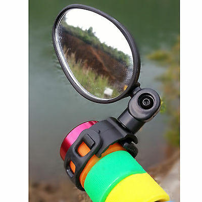 Universal Handlebar Rearview Mirror 360° Rotate Bike MTB for Bicycle Cycling New