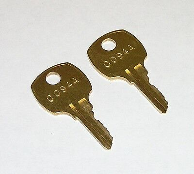 2 - C 94A C094A AMI Rowe Jukebox Replacement Cabinet Keys fit CompXNational
