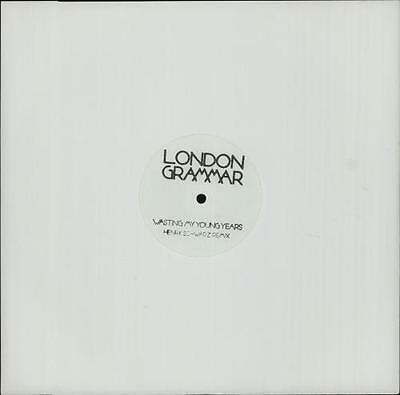 """London Grammar Wasting My Young Years [H... UK 12""""  record (Maxi)"""