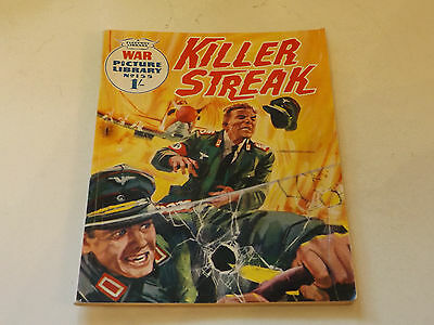 WAR PICTURE LIBRARY NO 155!,dated 1962!,GOOD for age,great 55!YEAR OLD issue.