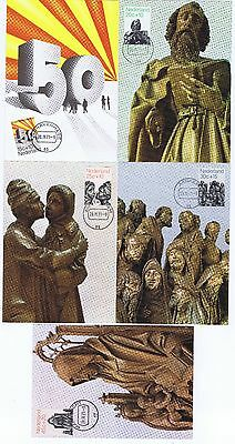 NETHERLANDS 1971 summer stamps on Maxi Cards with FDC cancels