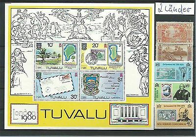10.933/ Lot / Mixture ** MNH Christmas Isl. + Tuvalu