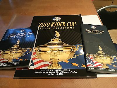 2010 Ryder Cup Programme & Guides
