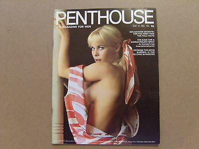 VINTAGE PENTHOUSE MAGAZINE - SEPTEMBER 1969 - Volume 4 Number 10