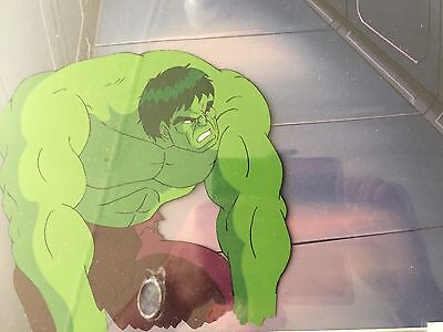 Marvel The Avengers 'hulk' Animation Production Cel
