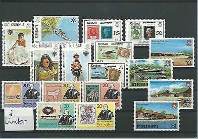 10.930/ Lot / Mixture ** MNH Kiribati  + Christmas Isl.