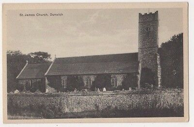 St. James Church Dunwich Suffolk Postcard, B720
