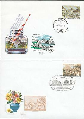 Austria 5 special PS cover used 1982-86 Österreich cw16