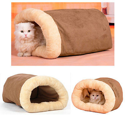 Winter Warm Suede Cat/Dog Bed House Sofa Soft Pet Kitty Puppy Beds Sleeping bag
