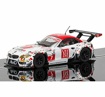 SCALEXTRIC Slot Car C3848 BMW Z4 GT3, AMD Tuning