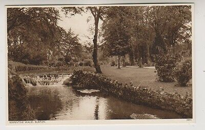 Derbyshire postcard - Serpentine Walks, Buxton