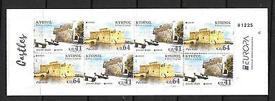 Cyprus 2017 Europa Booklet(Castles) Mnh
