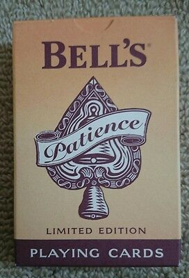 Bell's Whisky Patience Playing Cards Limited Edition 2006 Brand New & Sealed