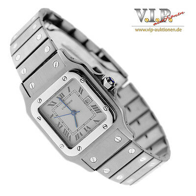 Cartier Santos Automatik Uhr Herrenuhr Damenuhr Unisex Steel Watch Montre Reloj