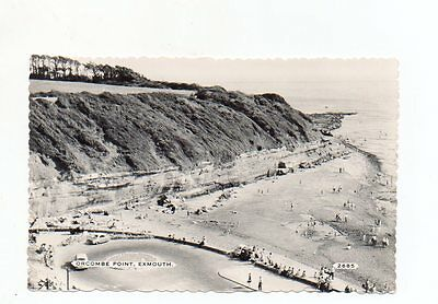 Old Postcard Orcombe Point Exmouth Devon