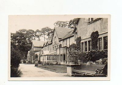 Old Postcard Beechwood Court Conway Wales