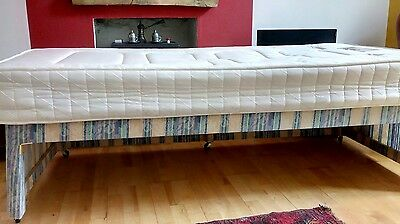3ft single bed with mattress & headboard