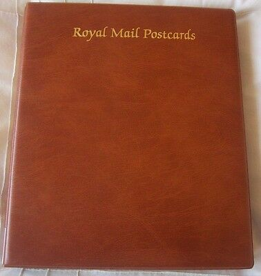 Royal Mail Postcards Album With 10 Leaves To Hold 80 Phq Cards Vgc