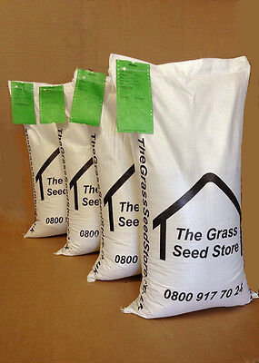 100KG SLOW GROWING LAWN SEED - WITHOUT RYEGRASS 100 Kg No Wear Garden Lawns