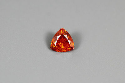 0.395 Cts Amazing Natural Rare Unheated Orange Red Sphalerite Gemstone~ Nr!!!