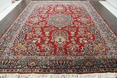 Persian Traditional Vintage Large  9.8 X 12.8 Oriental Rug Area Carpet Rugs