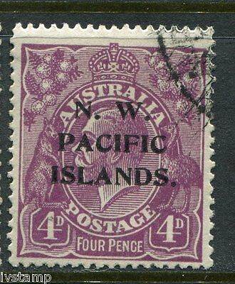 Australia N W Pacific Islands #47 SG#123  P over IS  sound used