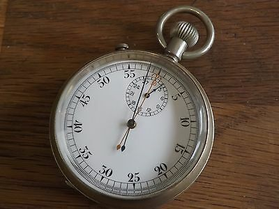 Interesting Antique Military Stopwatch - Working