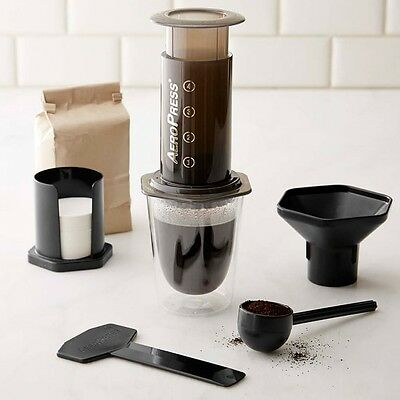Aerobie Aeropress Coffee Maker Press with Filters + FREE EXTRA 350 PAPER FILTERS