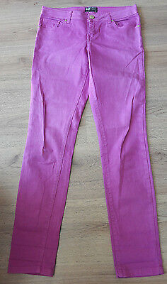 NEW LOOK YES YES Purple Skinny Jeans Size UK12 EU40