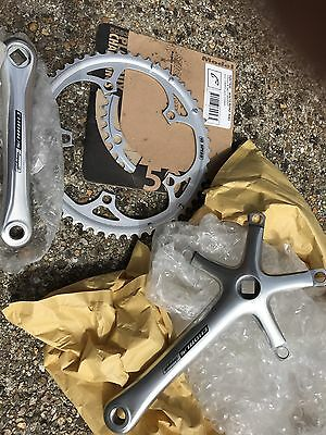Campagnolo Crankset Crank Chainset Chorus New Rings 53 39