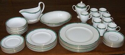 Wedgwood 8 person dinner service - Jade -  new - 54 pieces