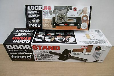 Special Pairing Trend Router Mortise Lock Jig Lock/jig + Door Stand D/stand/a