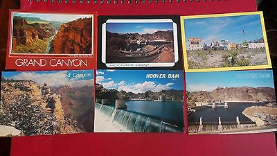 "United States, 6 x ""Nevada"", Blank, Postcards. Various years & views."
